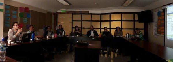 Reventazon Comite local COBRI SURAC participando en taller organizado por el equipo consultor del Protecto PNCB-GIZ-COBRI SURAC