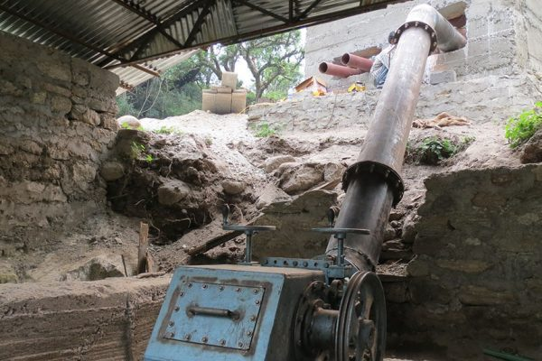 Low head microhydro plant installed in BMF@IUCN